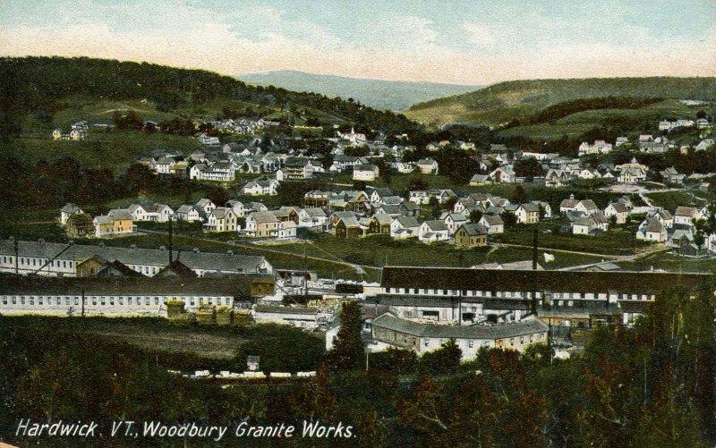 VT - Hardwick. Woodbury Granite Works