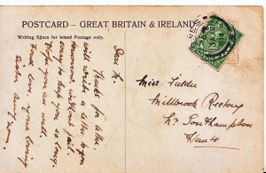 Genealogy Postcard - Family History - Fielder - Southampton - Hampshire  476A