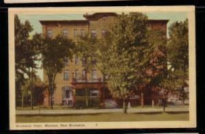 PECO Colour PC Brunswick Hotel Moncton, New Brunswick1949
