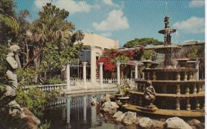 Florida Clearwater Fountain & Garden At Kapok Tree Inn