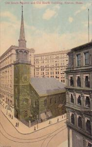 Old South Church And Old South Building Boston Massachusetts