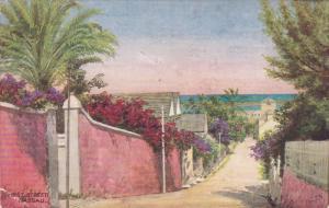 NASSAU, Bahamas, 1900-1910's; West Street