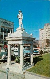 BC Distributing Confederate Monument El Dorado Arkansas 1950s Postcard 8960