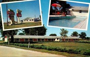 Illinois Greenville The Elms Motel & Cafe