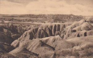 View In Badlands Nat Monument South Dakota Albertype