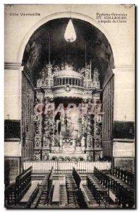 Old Postcard Cote Vermeille Collioure Pyrenees Chapel of Christ