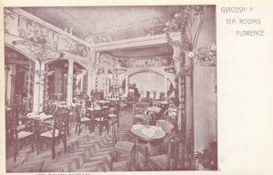 FLORENCE, Toscana, Italy, 1900-10s; Giacosa's Tea Room
