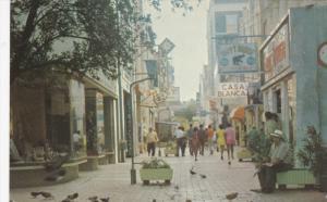 CURACAO, Netherland Antilles, 1940-1960's; Heerensstraat, Happy House, Casa B...