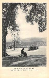 Berryville Virginia Trappist Monks Blue Ridge Mountains Antique Postcard K82676