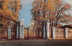 Russia Town of Pushkin, The Main Gates Great Yekaterininsky Palace