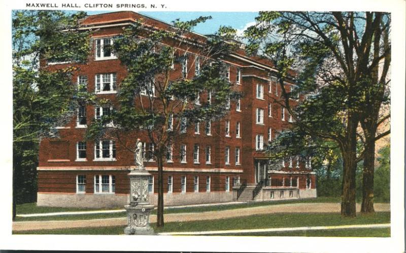 Maxwell Hall - Clifton Springs NY, New York - WB