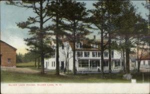 Silver Lake House NH c1910 Postcard
