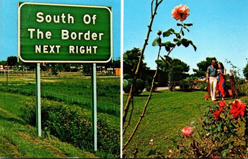 South Carolina South Of The Border I-95 Sign