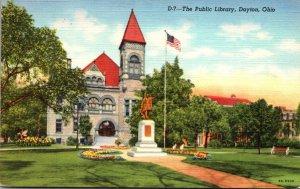 Ohio Dayton Public Library Curteich