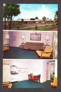 FL Charlotte Shores Apartments FORT MYERS Postcard PC -