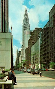 New York City The Chrysler Building 1972