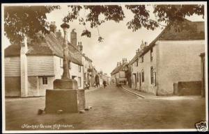 sussex, ALFRISTON, Market Cross (1950s) RPPC