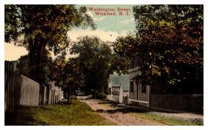 Rhode Island , Wickford ,  Washington Street
