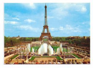 Eiffel Tower Paris France Gardens Palais Challot Champ de Mars 1977 4X6