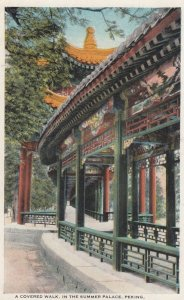 PEKING , China , 00-10s ; Covered walk in Summer Palace