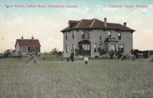INDIAN HEAD , Saskatchewan, 1900-10s ; Farm House