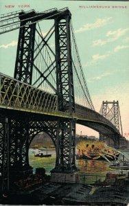 USA New York WIlliamsburg Bridge 03.81