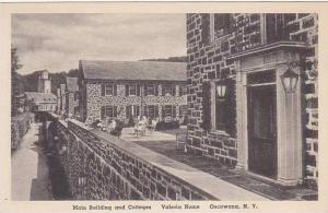 New York Oscawana Main Building And Cottages Valeria Home Albertype