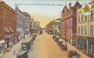 Ouellette Ave., from Ferry Dock, Windsor, Ontario, Canada, 00-10s