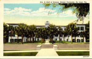 Florida Deland Hall Of Science Stetson University 1955 Curteich