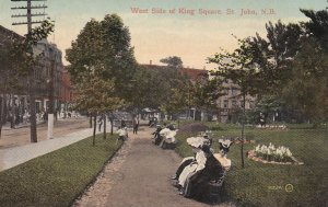 ST JOHN , New Brunswick , Canada , West side king Square, 00-10s