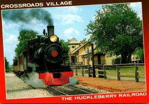 Michigan Flint Crossroads Village The Huckleberry Railroad
