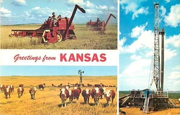Greetings from Kansas The Bread Basket of the World KS