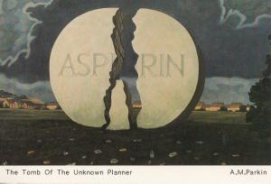 Aspirin The Tomb Of The Unknown Planner Postcard