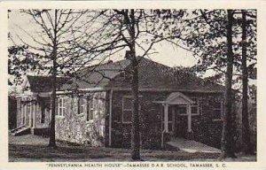 South Carolina Tamassee Pennsylvania Health House Tamassee D A R School