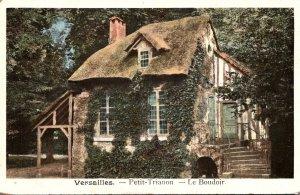 France Versaille Petit-Trianon Le Boudoir