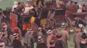 Wills Vintage Cigarette Card Scissors Cigarettes 1914 Derby Day Series No 22