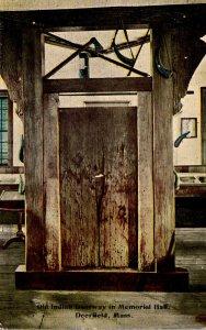 Massachusetts Deerfield Old Indian Doorway In Memorial Hall