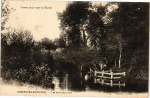 CPA Canton de Juvigny-le-Tertre Clerence-le-Roussel Les bords de... (246053)