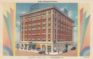 GALESBURG , Illinois , 1930-40s ; Hotel Custer