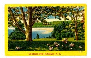 NY - Marion. Country Scene
