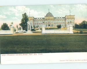 Pre-1907 BOTANICAL GARDEN Bronx Park - New York City New York NY H7383
