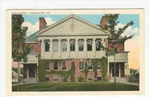 High School, Farmington, Maine, 00-10s