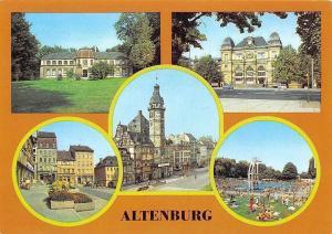 Altenburg Bahnhof, Markt Rathaus, Freibad, Naturkundliches Museum Mauritianum