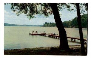NY - Catskills, Liberty. Peaceful Lake View