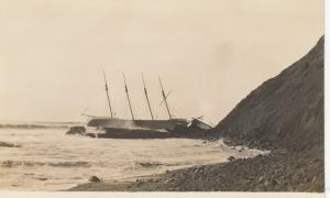 RP, San Francisco , 1914 ;POLARIS shipwreck on Potatoe Patch Shoal #2