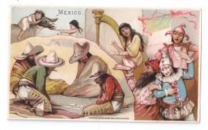 Arbuckle Coffee Trade Card 1893 Mexico Sports Pastimes # 30