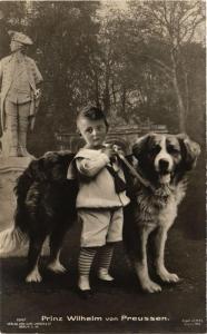 CPA AK Prinz Wilhelm von Preussen GERMAN ROYALTY (701252)