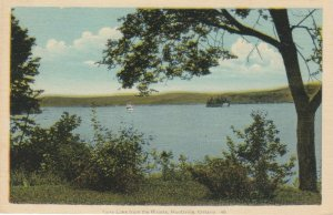 HUNTSVILLE , Muskoka , Ontario , Canada, 1930s ; Fairy Lake from the Riviera