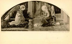 Lippi - The Annunciation (666) official Rembrandt Photogravure