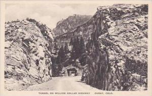 Colorado Ouray Tunnel On Million Dollar Highway Albertype